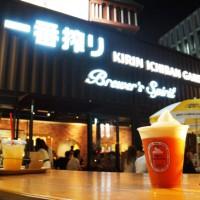 都内のビアガーデンは渋谷の「キリン一番搾りガーデン」で決まり